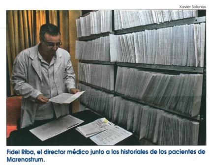 Historiales pacientes Marenostrum